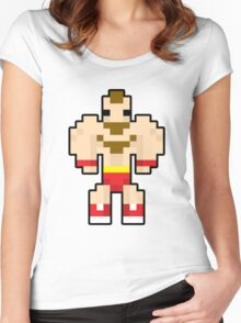 Zangief Women's Fitted Scoop T-Shirt