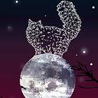 meow at the moon by Randi Antonsen