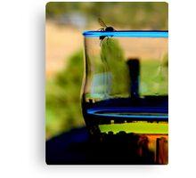 Drunk Wasp Canvas Print