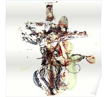 Crucifixion II 3, Christ in Ecstasy Poster