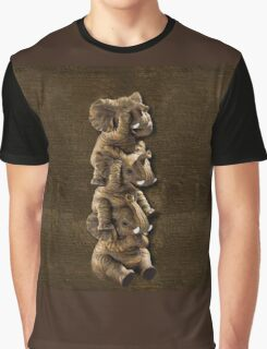 ELEPHANTS...SEE NO EVIL..HEAR NO EVIL,SPEAK NO EVIL IPHONE CASE  Graphic T-Shirt
