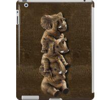 ELEPHANTS...SEE NO EVIL..HEAR NO EVIL,SPEAK NO EVIL IPHONE CASE  iPad Case/Skin