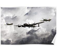 The Battle of Britain Memorial Flight Poster