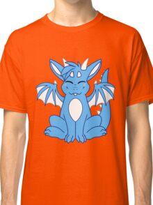Cute Chibi Blue Dragon Classic T-Shirt