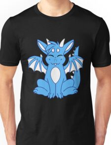 Cute Chibi Blue Dragon Unisex T-Shirt