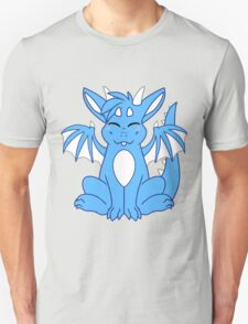 Cute Chibi Blue Dragon T-Shirt