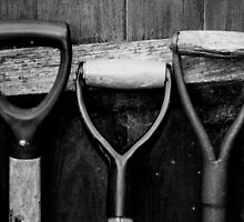 The Shovel, Spade & Fork by forestspadge