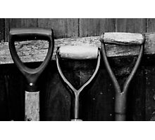 The Shovel, Spade & Fork Photographic Print