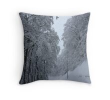 Nozawa Onsen Throw Pillow