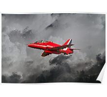 Red Arrows Hawk Poster