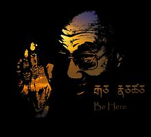 Tibetan Sunset Dalai Lama  by Dark Threads