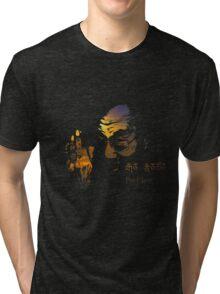 Tibetan Sunset Dalai Lama  Tri-blend T-Shirt