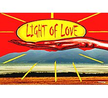 LIGHT OF LOVE Photographic Print