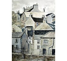 The Sea Front, Staithes Photographic Print