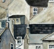 The Sea Front, Staithes Sticker