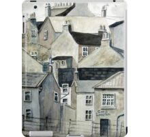 The Sea Front, Staithes iPad Case/Skin