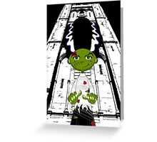 Bride of Frankenstein Greeting Card
