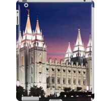 Salt Lake Temple Summer Sunset 20x30 iPad Case/Skin
