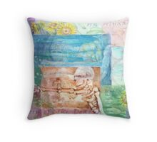 An Alphabetical Inventory of the Dead Throw Pillow