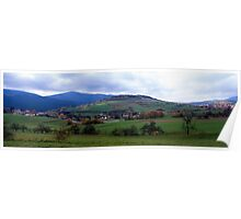 Autumn in the Bavarian Forest Poster
