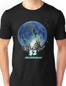 Two Dollars! Unisex T-Shirt