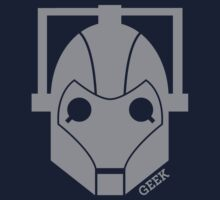 Geek Shirt #1 Cyberman Grey Kids Clothes