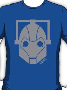 Geek Shirt #1 Cyberman Grey T-Shirt