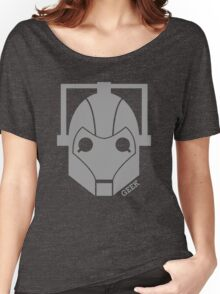 Geek Shirt #1 Cyberman Grey Women's Relaxed Fit T-Shirt