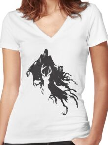 """""""Expecto patronum"""" Women's Fitted V-Neck T-Shirt"""