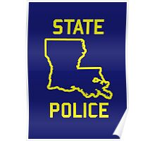 True Detective - Louisiana State Police Poster