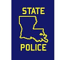 True Detective - Louisiana State Police Photographic Print