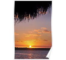 Key largo sunset 1 Poster