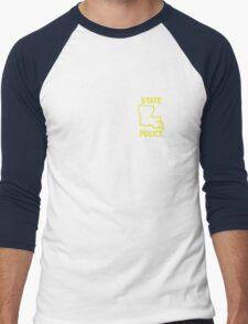 True Detective - Louisiana State Police Men's Baseball ¾ T-Shirt