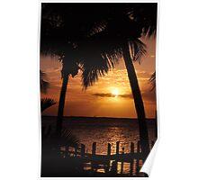 Key Largo sunset 2 Poster