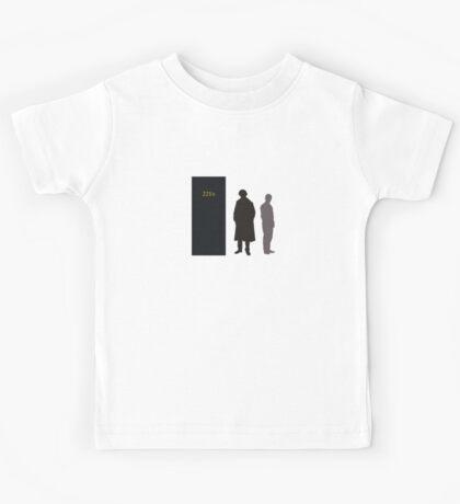 Sherlock Holmes and Dr. Watson Kids Tee