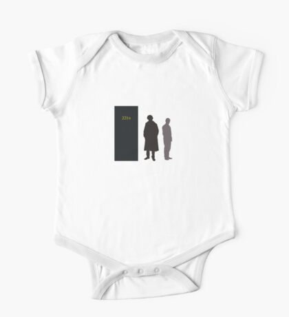 Sherlock Holmes and Dr. Watson One Piece - Short Sleeve