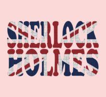 Sherlock Holmes Jack Kids Tee