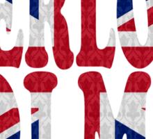 Sherlock Holmes Jack Sticker
