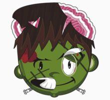 Mini Zombie Frankenstein Baby Tee