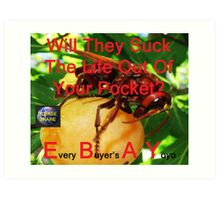 Every Buyer's A Yoyo 35 Art Print