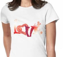 Love8 Womens Fitted T-Shirt
