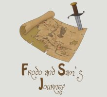 Frodo and Sam's Journey by Angrahius