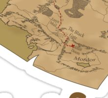 Frodo and Sam's Journey Sticker