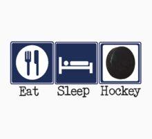 Eat, Sleep, Hockey by shakeoutfitters