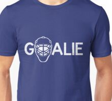 Ice Hockey Goalie Unisex T-Shirt