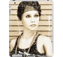 Vintage Girl iPad Case/Skin