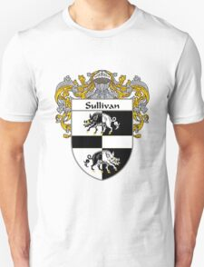 Sullivan Coat of Arms / Sullivan Family Crest T-Shirt