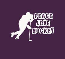 Peace, Love, Hockey Unisex T-Shirt