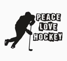 Peace, Love, Hockey by shakeoutfitters