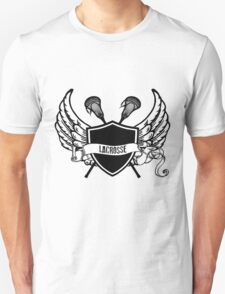 Lacrosse Wings Unisex T-Shirt